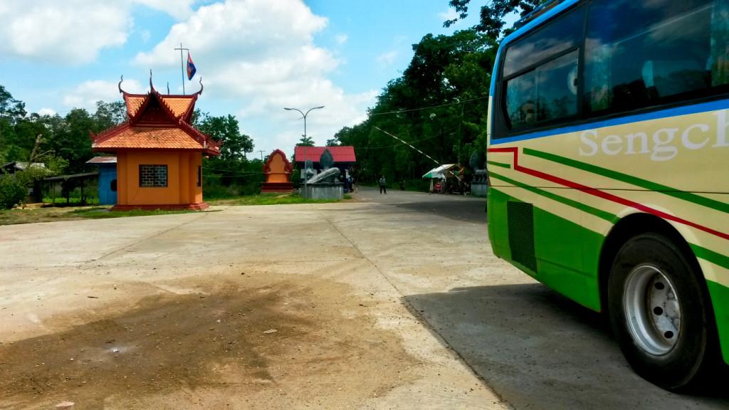 Blick zurück Richtung Laos