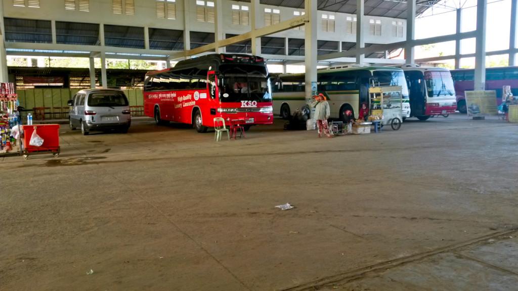Busbahnhof von Siem Reap