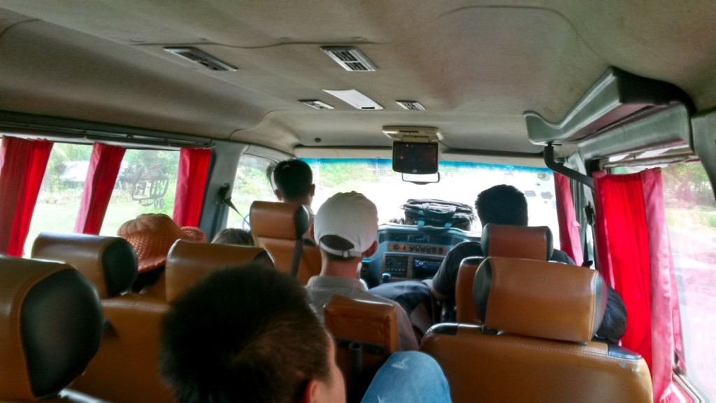 Bus nach Siem Reap