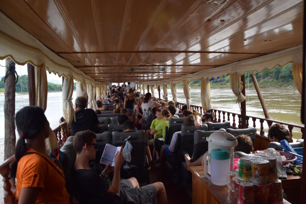 Boot nach Luang Prabang