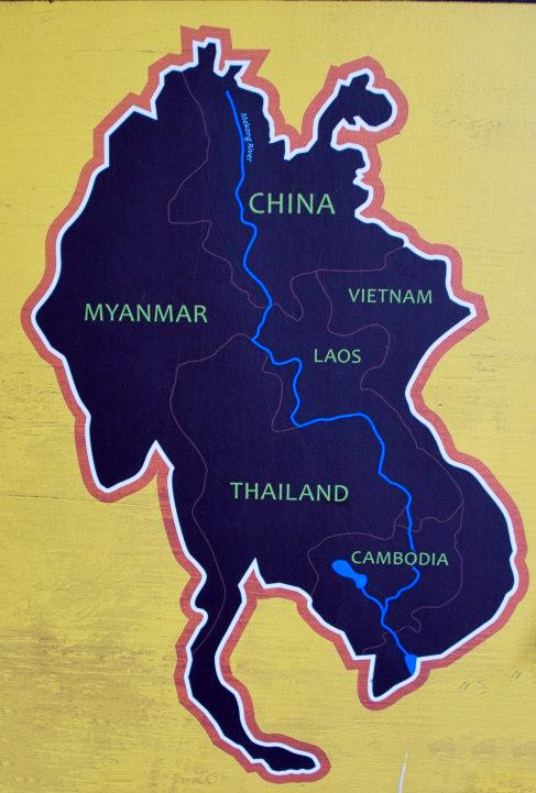 Verlauf des Mekongs